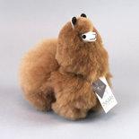 Inkari - Alpaca stuffed animal Hazelnut S