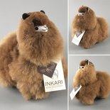 Inkari - Alpaca stuffed animal Karamel S