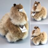 Inkari - Alpaca stuffed animal Sandstone M