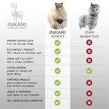 Inkari - Alpaca stuffed animal Choco cream M
