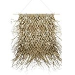 Mars & more - Wall hanging braided palm leaf 90cm