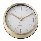 Bloomingville - Table clock gold white