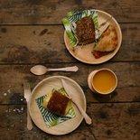 Esschert Design - Wooden cutlery s/8
