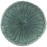 Gusta - Cushion velvet green
