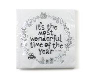 Rustik Lys - By Kimmi Napkins It's the most wonderful time of the year