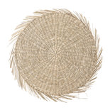 Bloomingville - Placemat round Seagrass