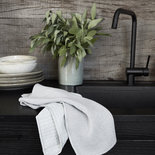 House Doctor - Dishcloth Shine grey s/3