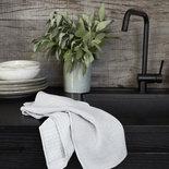 House Doctor - Dishcloth Shine grey s/3