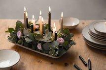 Rustik Lys - Little candles Caramel L