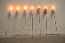 Rustik Lys - Torch White