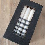 Rustik Lys - By Kimmi - Dinner candle Clouds 10 pieces B-keus