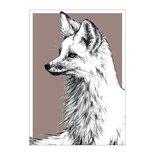 BDdesigns - Card Wildlife Fox