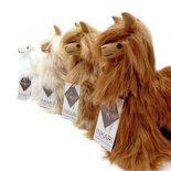 Inkari - Alpaca stuffed animal Suri ivory S