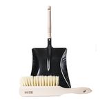 Mijn Stijl - Brush and dustpan black L