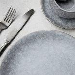 House Doctor - Grey Stone Dinner plate
