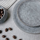 House Doctor - Grey Stone Dessert plate