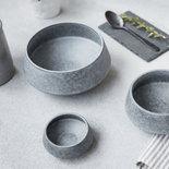 House Doctor - Grey Stone Bowl large