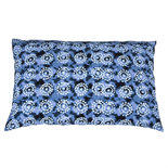 Broste Copenhagen - Cushion cover Tie Dye Indigo blue