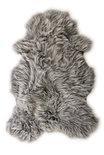 Natural Luxery - IJslands Schapenvacht grijs