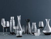 Broste Copenhagen - Bubble - Water Glass Grey