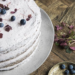 House Doctor - Rustic Cake plate