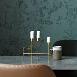 House Doctor - Candle holder Three Brushed brass