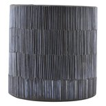 House Doctor - Tealight Pipe Black/grey