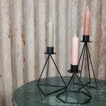 MrsBloom - Candle holder Jasper black