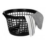 Mijn Stijl - Laundry basket black