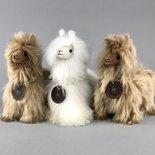 Inkari - Alpaca stuffed animal Suri sahara Small