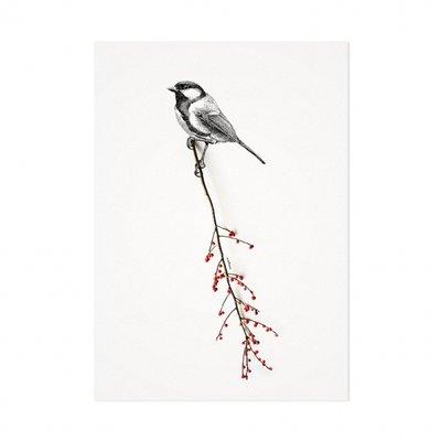 Mélisse - Card The great tit