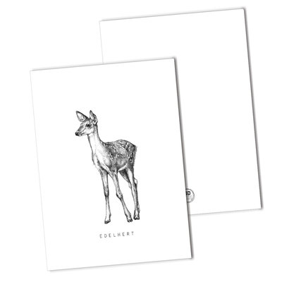 BDdesigns - Card Red deer