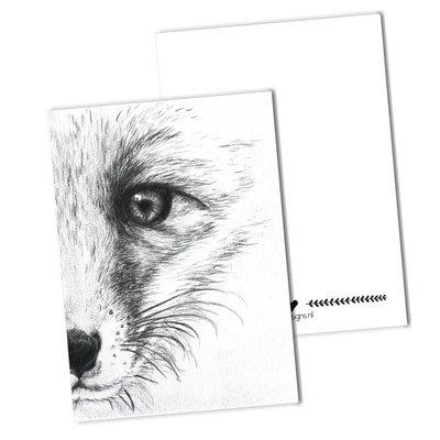 BDdesigns - Card The fox