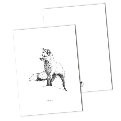 BDdesigns - Card Fox