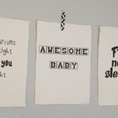 (Op) de Maalzolder - Poster Awesome baby