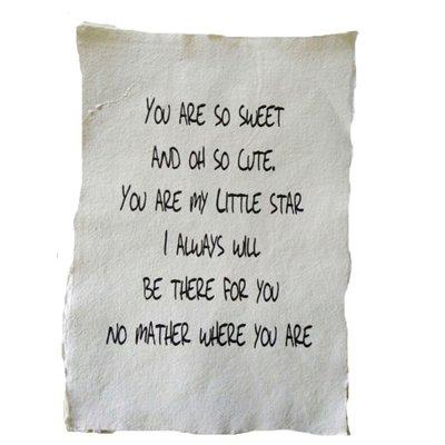 (Op) de Maalzolder - Poster You are so sweet