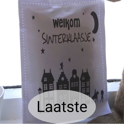 (Op) de Maalzolder - Scented sachet Welkom Sinterklaasje