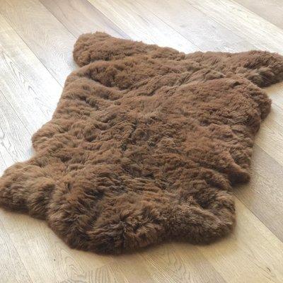 Inkari - Handmade Alpaca rug Reina Walnut