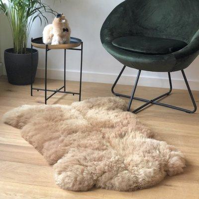 Inkari - Handmade Alpaca rug Reina Sandstone