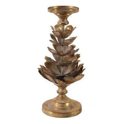 Candle holder Landon gold L