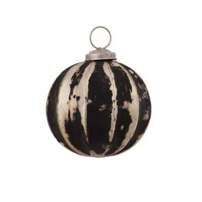 PTMD - Christmas ball black/gold