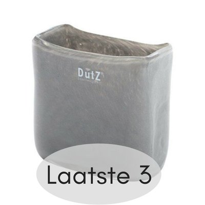 DutZ [collection] - Vase rectangular new grey