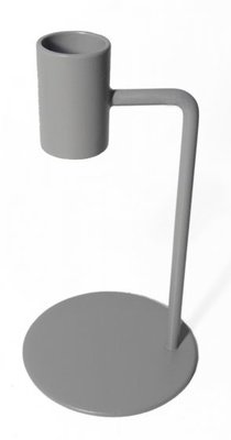 Branded By - Candle holder Curve grey L