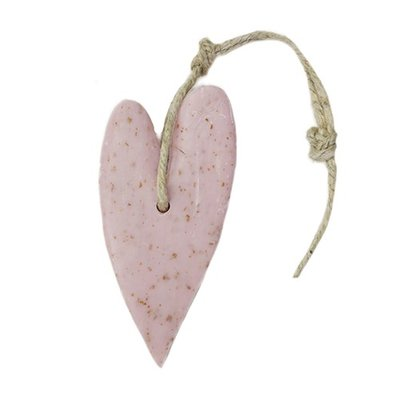Mijn Stijl - Soap Heart XL Old pink with bran Rose