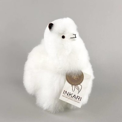 Inkari - Alpaca stuffed animal Ivory S