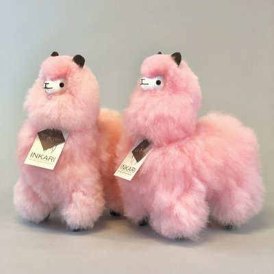Inkari - Alpaca stuffed animal Cotton candy S Limited edition