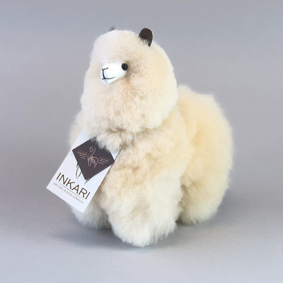 Inkari - Alpaca stuffed animal Blond S