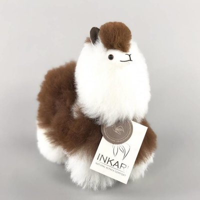Inkari - Alpaca stuffed animal Macchiato S