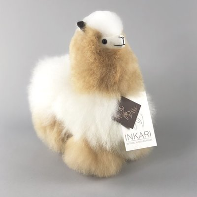 Inkari - Alpaca stuffed animal Ivory blond S