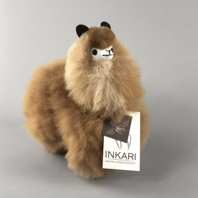 Inkari - Alpaca stuffed animal Karamel S